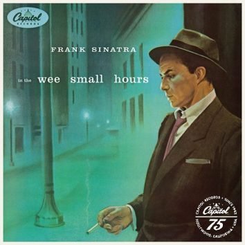 Frank Sinatra In The Wee Small Hours Album Cover With Logo - 530