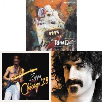 Frank Zappa Meat Light Chicago 78 Little Dots Montage Album Covers - 530