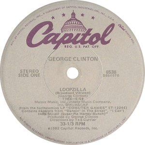 George Clinton Loopzilla 12 Single Label - 300