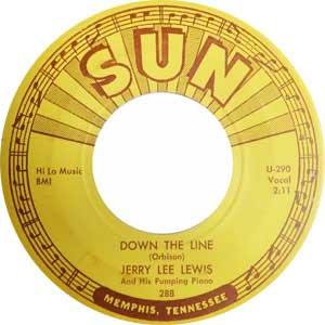 Jerry Lee Lewis Down The Line Rock N Roll Packshot