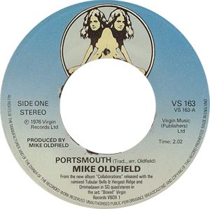 Mike Oldfield - Portsmouth Label - 300