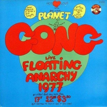 reDiscover 'Live Floating Anarchy 1977'