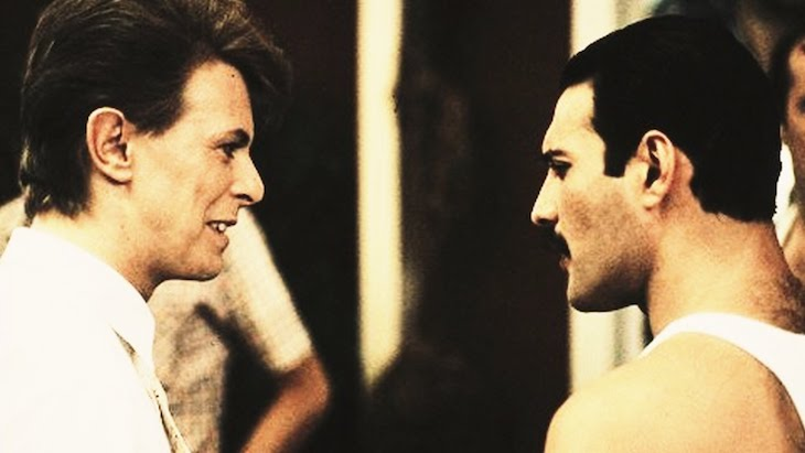 Queen & David Bowie Feel No Pressure