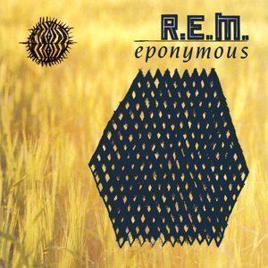 REM Eponymous LP cover - 300
