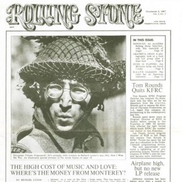 Rolling Stone First Cover