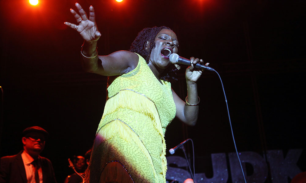 Sharon Jones photo by Roger Kisby and Getty Images
