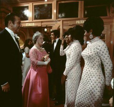 When Motown Royalty The Supremes Performed For British Royalty
