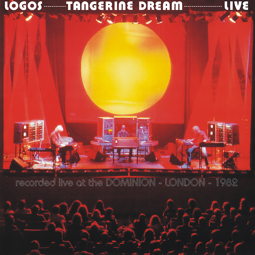 Tangerine Dream Logos Live album cover