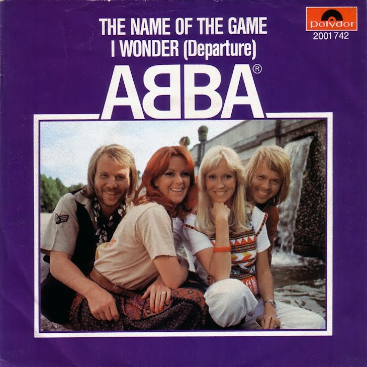 The Name Of The Game Was Another ABBA No. 1