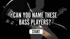 The uDiscover Bass Players Quiz