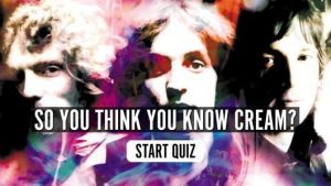 Cream Music Quiz
