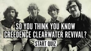 Creedence Clearwater Revival music quiz
