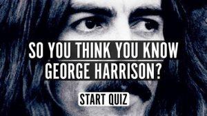 George Harrison quiz