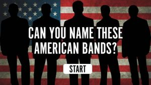 Name That American Band quiz
