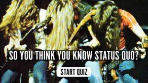 Status Quo music quiz
