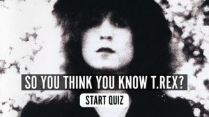 T.Rex music quiz