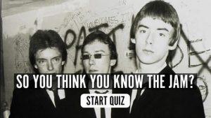 The Jam music quiz