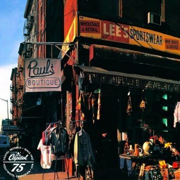 Beastie Boys Paul's Boutique Album Cover With Logo - 530