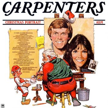 Carpenters Christmas Portrait album cover 730 web