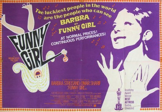 Funny Girl film poster - 530 width