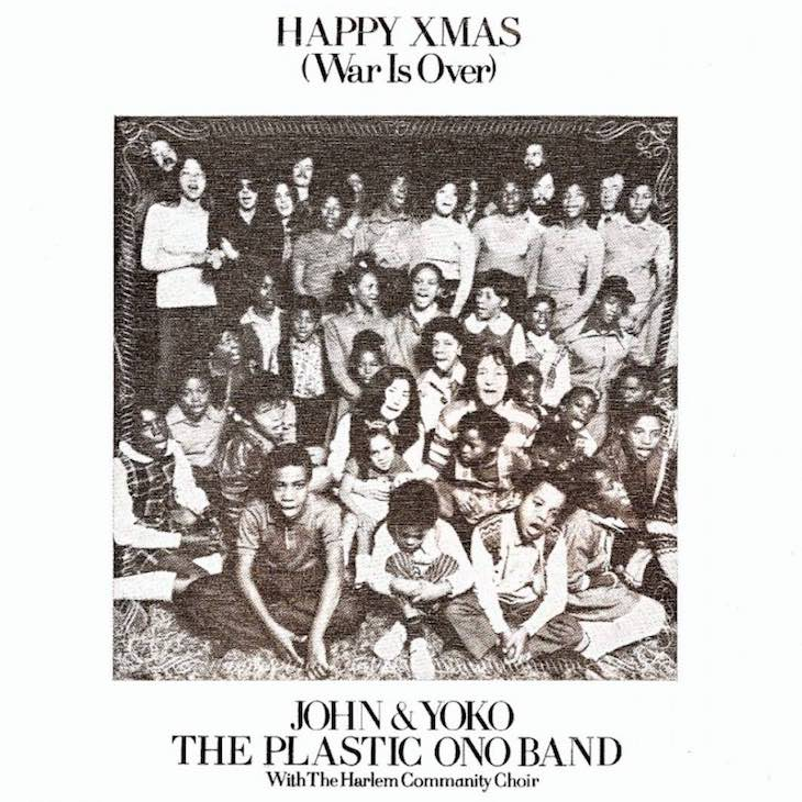 when john yoko wished the world a happy xmas