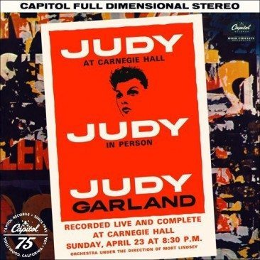 reDiscover 'Judy At Carnegie Hall'