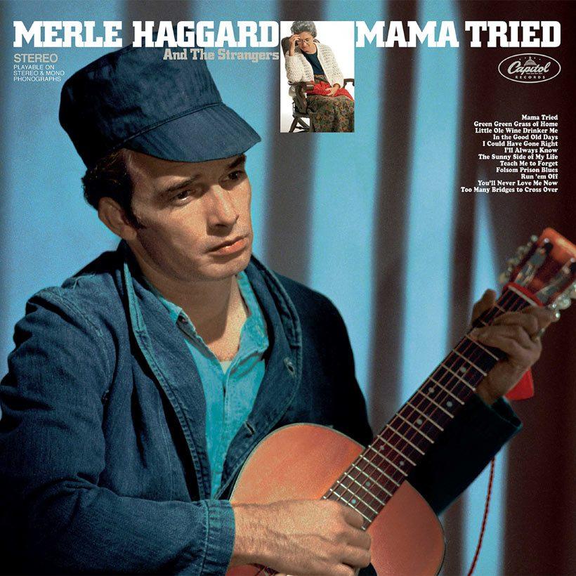 Merle Haggard Mama Tried album cover web optimised 820
