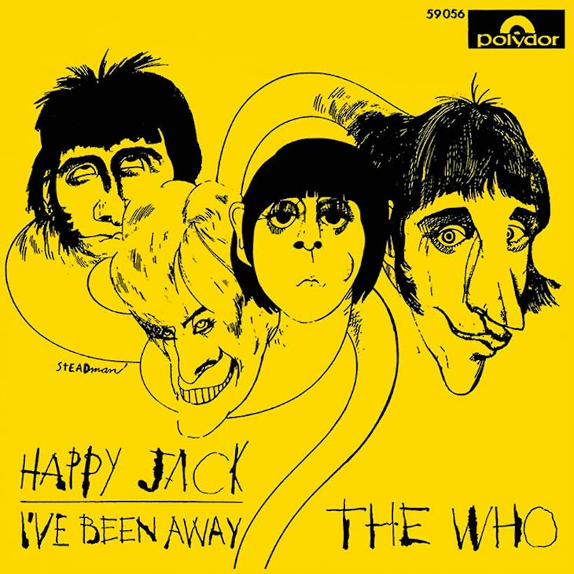 The Who Happy Jack single