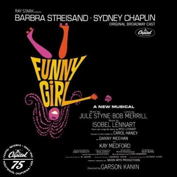 Various Funny Girl Album Cover With Logo - 530