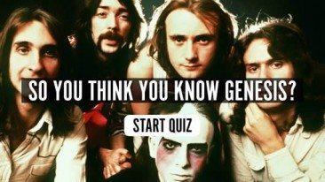 So You Think You Know Genesis? Quiz