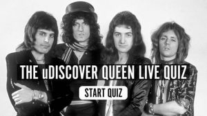 The uDiscover Queen Live! Quiz