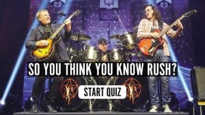 The Rush R40 Music Quiz