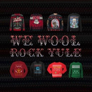 We Wool Rock Yule: The Best Band Christmas Jumpers