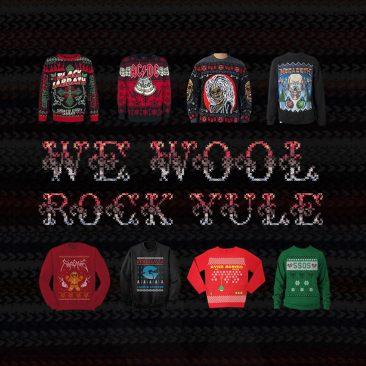 We Wool Rock Yule: The Best Band Christmas Jumpers