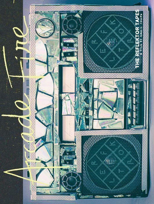 Arcade Fire - Reflektor Tapes - DVD Cover (hr)