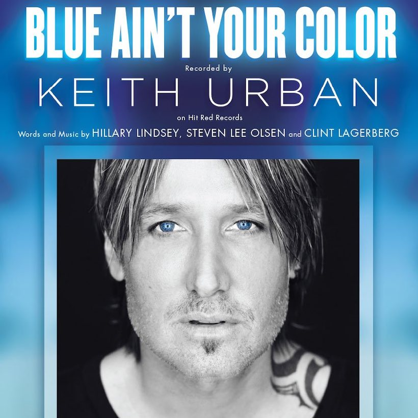 Blue Ain't Your Colour Keith Urban sheet music