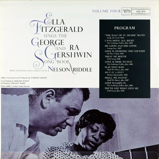 reDiscover 'Ella Fitzgerald sings The George and Ira Gershwin Song Book'