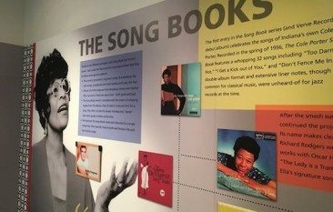 Ella's Songbooks On Display
