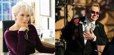 Elton John Tapped For 'Devil Wears Prada' Musical
