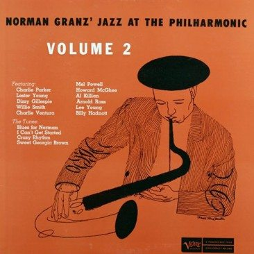 reDiscover 'Jazz at the Philharmonic Volume II'