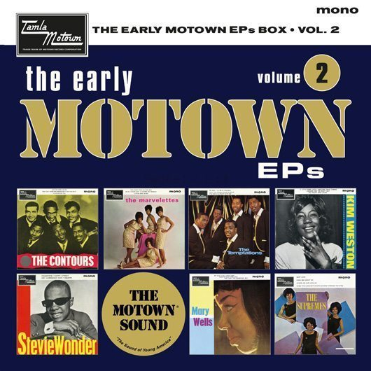 Supreme Temptations On 'The Early Motown EPs Volume 2'
