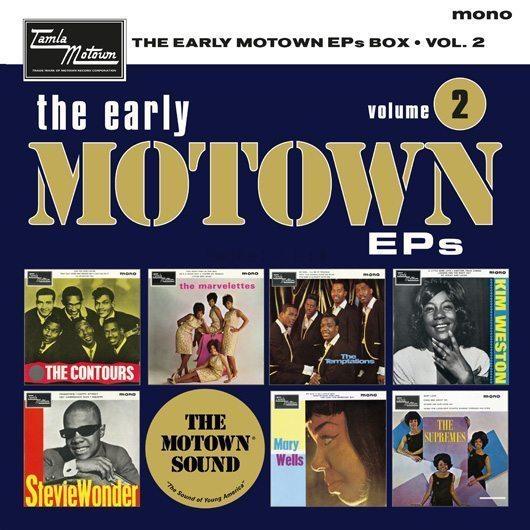 "Supreme Temptations On New Motown 7"" Box Set"