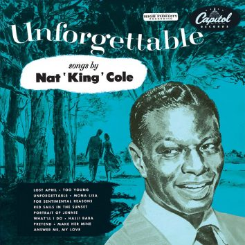 Nat King Cole Unforgettable Album Cover