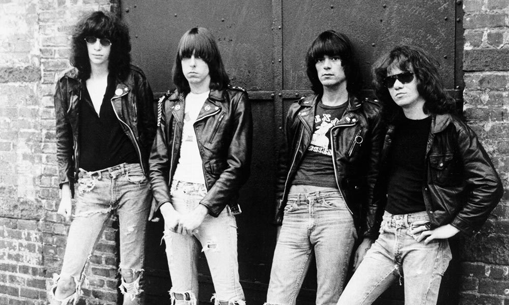 New York City punk band Ramones