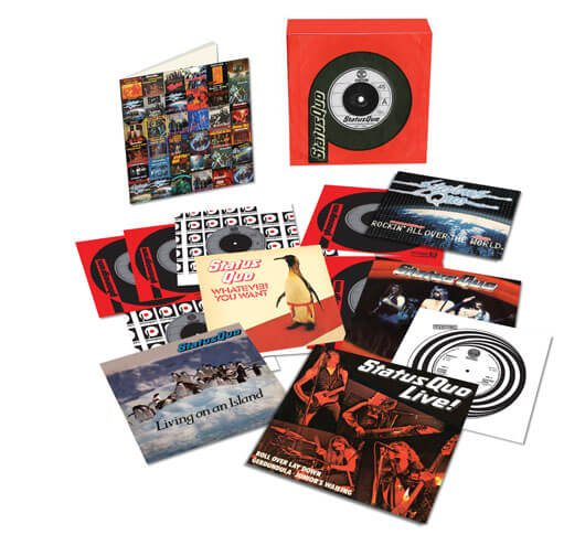 Status Quo The Vinyl Singles Collection Vol 1 3D Product Shot - 530