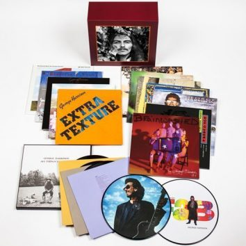 The George Harrison Vinyl Collection 3D Product Shot v1 - 530