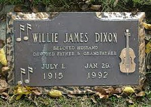 Willie Dixon grave