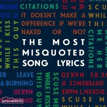 The Most Misquoted Song Lyrics