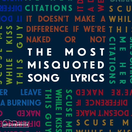 The Most Misquoted Song Lyrics | uDiscover