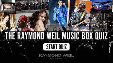 The Raymond Weil Music Box Quiz